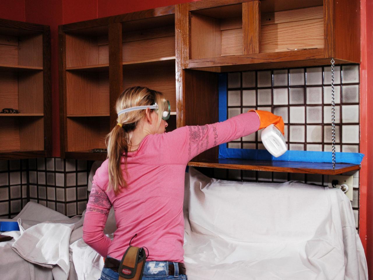 Kitchen spraying